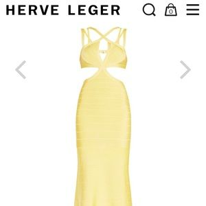 Herve Leger Dresses - Herve Leger Isidore Signature Gown